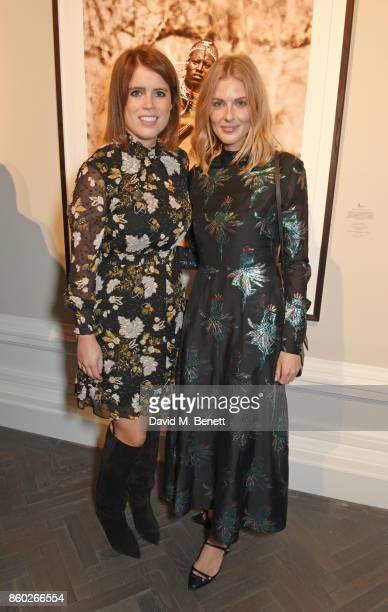 Princess Eugenie of York and Donna Air attend the Warrior Games Exhibition VIP preview party sponsored by Chantecaille and hosted by HRH Princess...