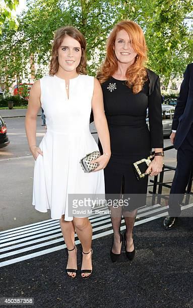 Princess Eugenie of York and Sarah Ferguson Duchess of York attend the Art Antiques London Gala Evening in aid of Children In Crisis at Kensington...