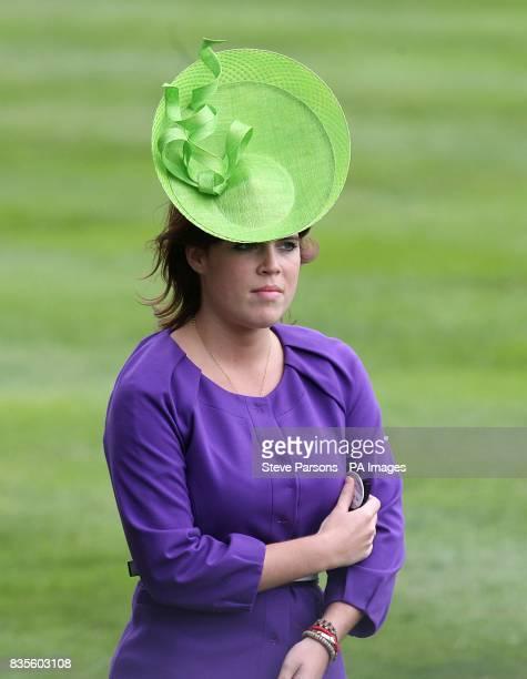 Princess Eugenie of York at Ascot Racecourse Berkshire