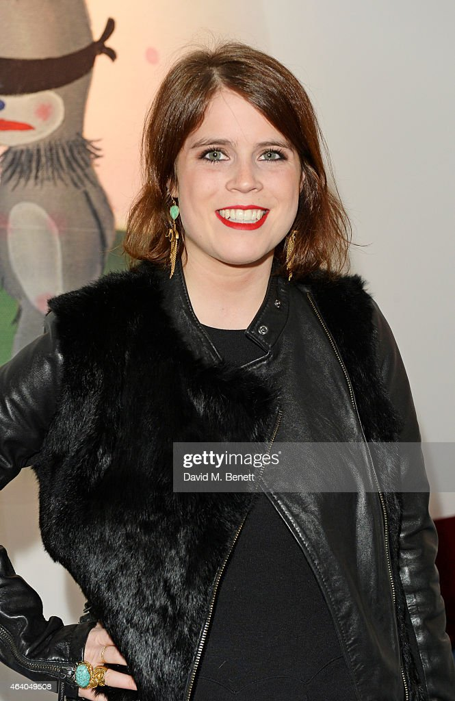 Princess Eugenie of York attend the Coach X Serpentine The Future Contemporaries Party at The Serpentine Sackler Gallery on February 21, 2015 in London, England.