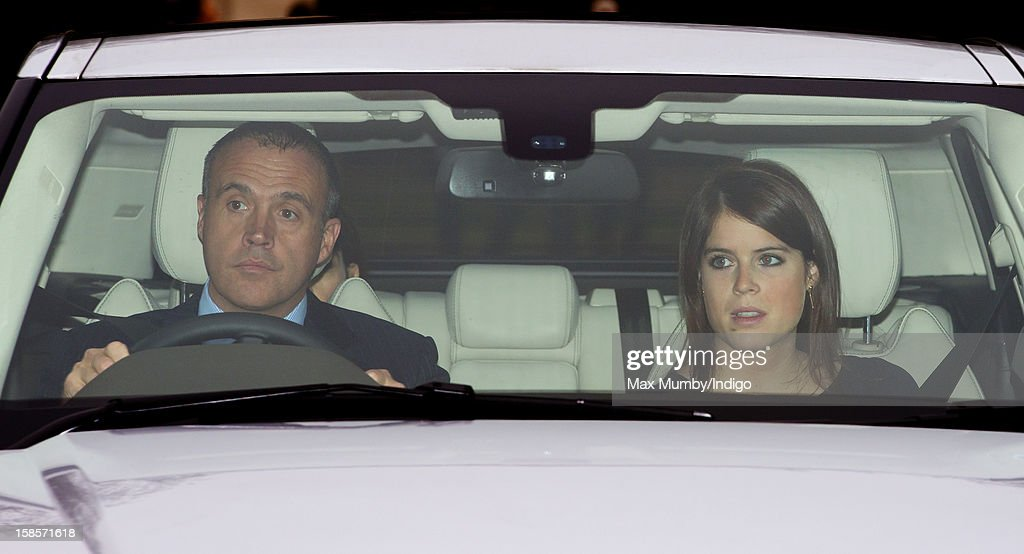 <a gi-track='captionPersonalityLinkClicked' href=/galleries/search?phrase=Princess+Eugenie&family=editorial&specificpeople=160237 ng-click='$event.stopPropagation()'>Princess Eugenie</a> of York attends a Christmas lunch for members of the Royal Family hosted by Queen Elizabeth II at Buckingham Palace on December 19, 2012 in London, England.