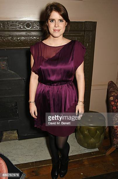 Princess Eugenie of York attends a VIP screening of 'Lion' hosted by Harvey Weinstein and Georgina Chapman at Soho House on December 19 2016 in...
