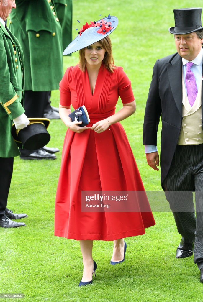 Princess Eugenie of York attends Ladies Day of Royal Ascot 2017 at Ascot Racecourse on June 22, 2017 in Ascot, England.