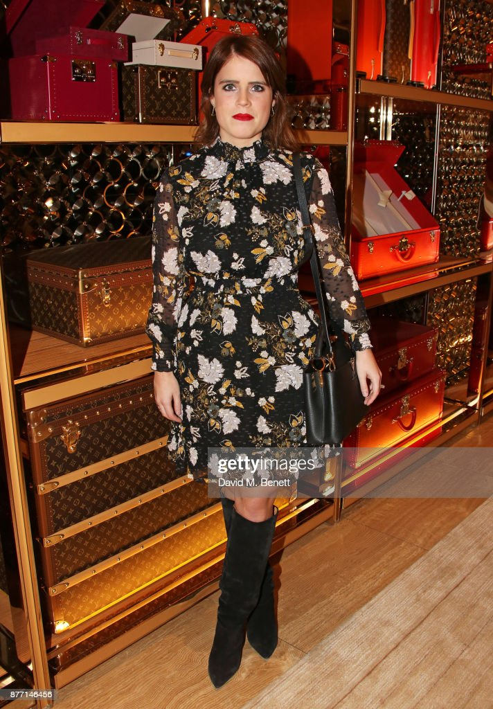 Princess Eugenie of York attends Louis Vuittons Celebration of GingerNutz in Vogue's December Issue on November 21, 2017 in London, England.