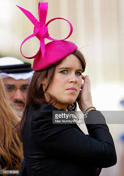HRH Princess Eugenie of York attends Royal Ascot Ladies Day at Ascot Racecourse on June 17 2010 in Ascot England