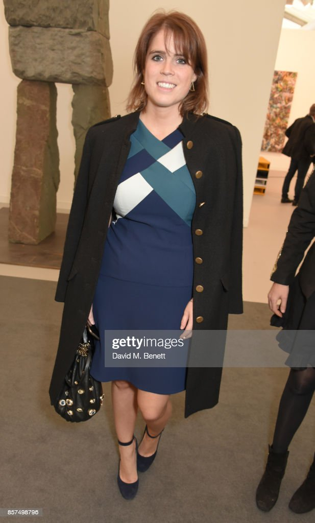Princess Eugenie of York attends the Frieze Art Fair 2017 VIP Preview in Regent's Park on October 4, 2017 in London, England.