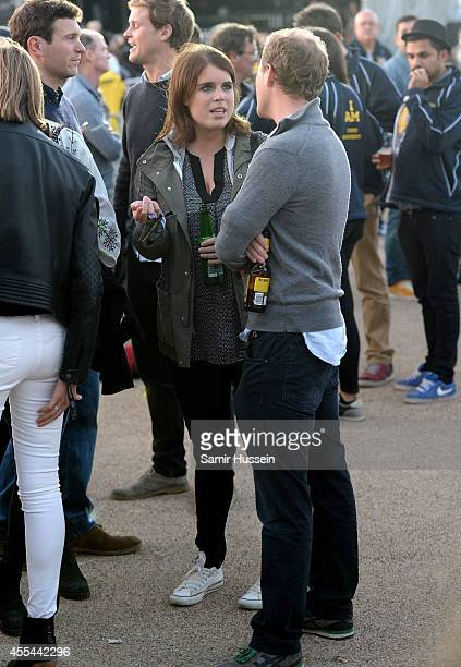 Princess Eugenie of York attends the Invictus Games Closing Concert at the Queen Elizabeth Olympic Park on September 14 2014 in London England