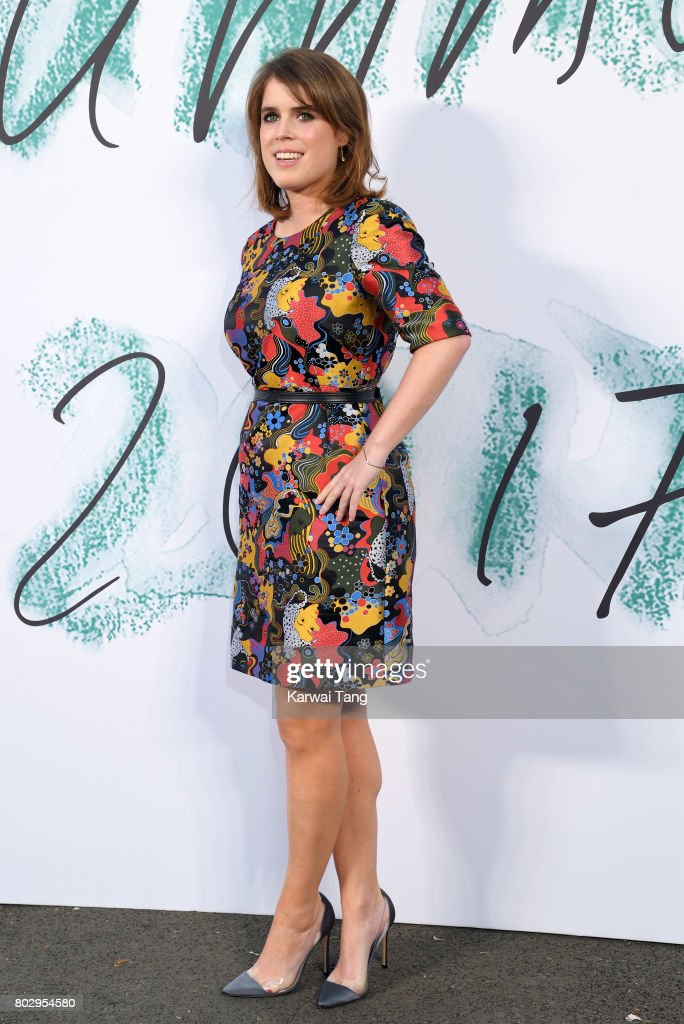 Princess Eugenie of York attends The Serpentine Gallery Summer Party at The Serpentine Gallery on June 28, 2017 in London, England.