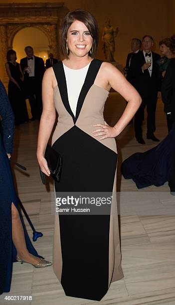 Princess Eugenie of York attends the St Andrews 600th Anniversary Dinner on December 9 2014 in New York City