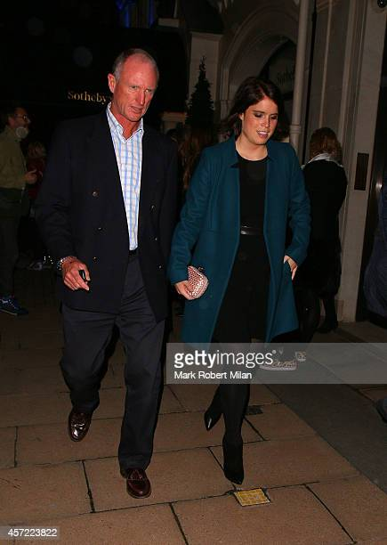 Princess Eugenie of York sighting on October 14 2014 in London England