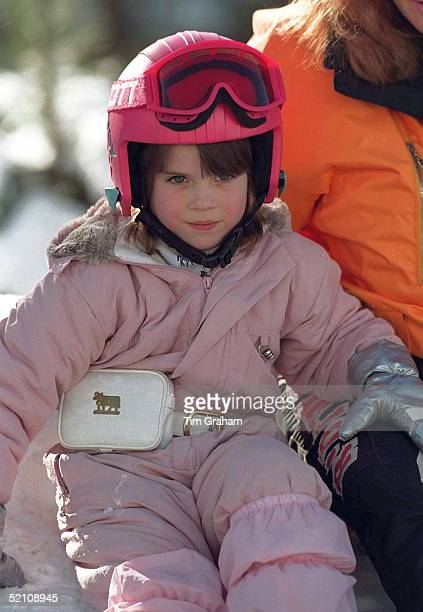 Princess Eugenie On Skiing Holiday In Verbier Switzerland