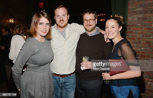 Princess Eugenie York and guests attend the GavelGrand Benefit Auction at The Bowery Hotel on March 26 2014 in New York City