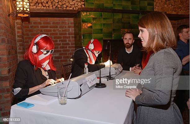 Princess Eugenie York waits for the Bumbys at the GavelGrand Benefit Auction at The Bowery Hotel on March 26 2014 in New York City