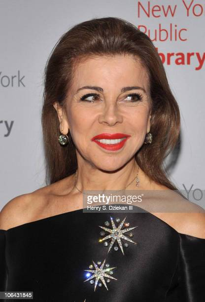 Princess Firyal of Jordan attends the 2010 Library Lions Benefit at The New York Public Library on November 1 2010 in New York City