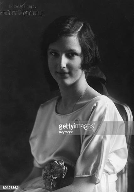 Princess Giovanna of Savoy who married King Boris III of Bulgaria in 1930 and became known as Tsaritsa Ioanna of Bulgaria 7th March 1923