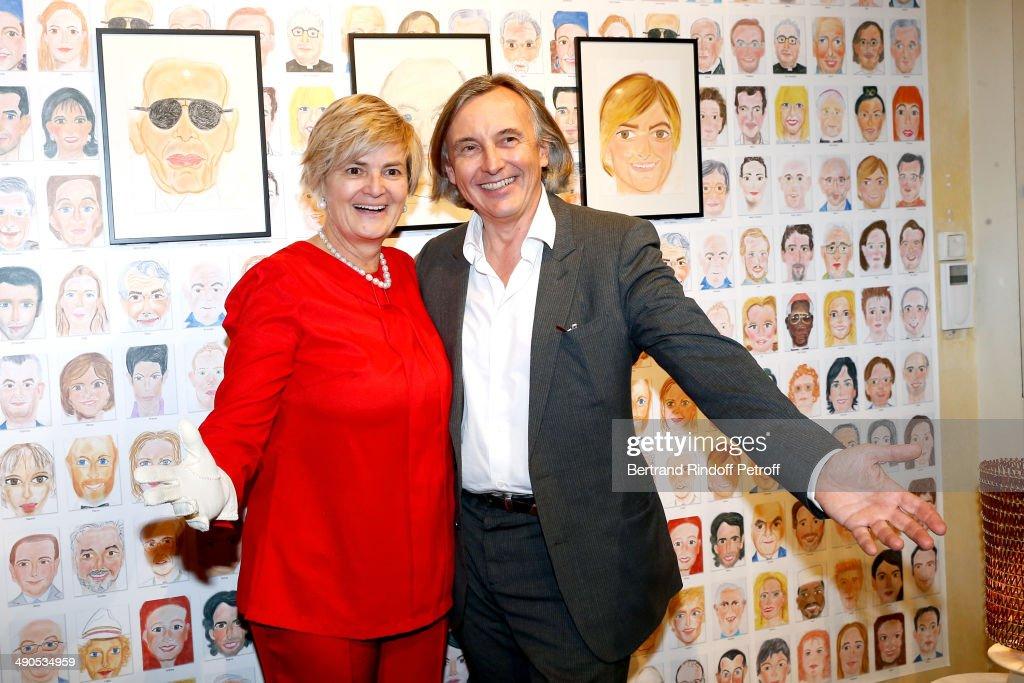 'Voila Cherie' : Gloria von Thurn und Taxis' Exhibition At Galerie Passebon In Paris