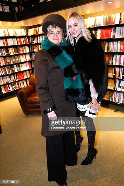 Princess Gloria Von Thurn und Taxis and her daughter Princess Elisabeth von Thurn und Taxis attend Princess Gloria Von Thurn und Taxis signs her Book...