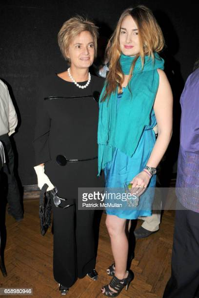 Princess Gloria von Thurn und Taxis and Princess Maria Theresia von Thurn und Taxis attend BOMB MAGAZINE's 28th Anniversary Gala Benefit and Silent...