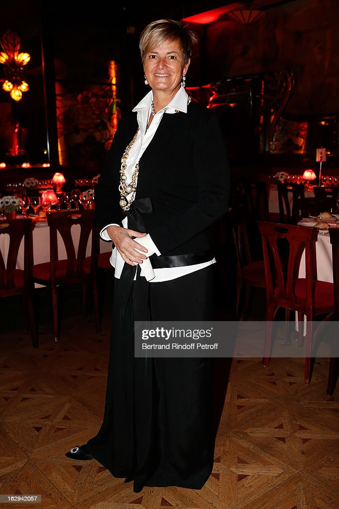 Princess Gloria von Thurn und Taxis attends Pierre Pelegry's birthday party at Maxim's on March 1, 2013 in Paris, France.
