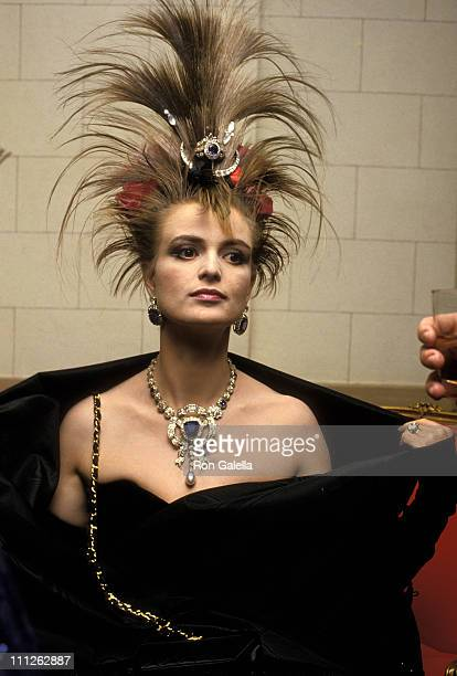 Princess Gloria von Thurn und Taxis during 36th Annual April in Paris Ball at Waldorf Hotel in New York City New York United States