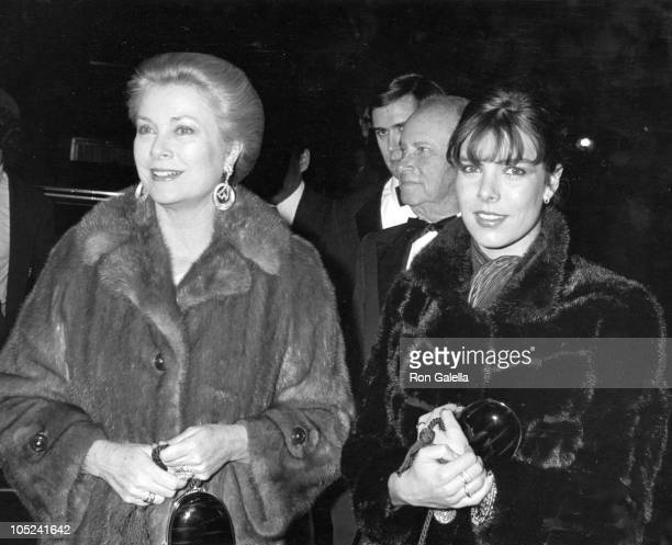 Princess Grace of Monaco and daughter Princess Caroline