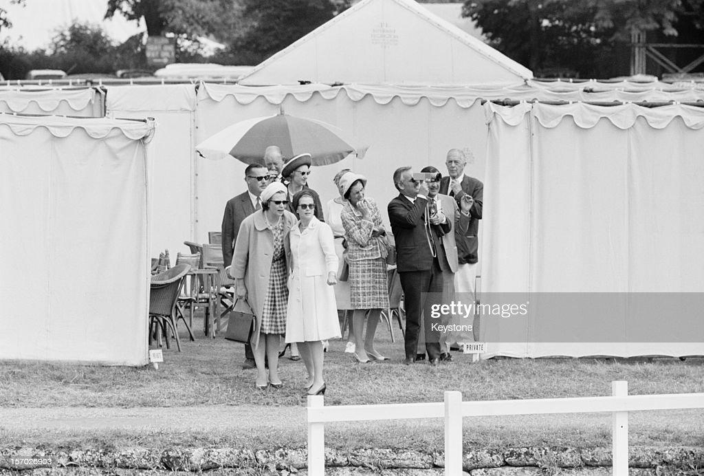 Princess Grace of Monaco and her husband Prince Rainier III at Henley Royal Regatta HenleyonThames Oxfordshire 3rd July 1965