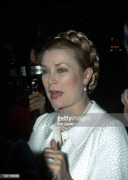 Princess Grace of Monaco during Starlight Christmas Party at Waldorf Astoria in New York City New York United States
