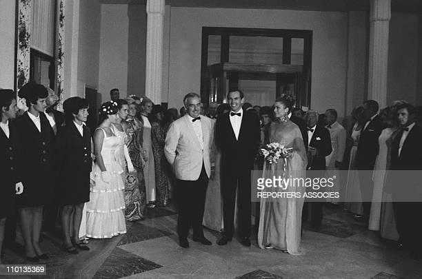 Princess Grace Rainier and Dr Barnard at Red cross gala in Monaco on January 01 1968