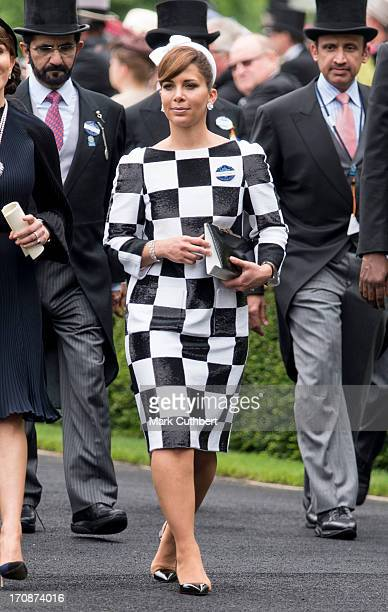 Princess Haya Bint Al Hussein attends Day 2 of Royal Ascot at Ascot Racecourse on June 19 2013 in Ascot England