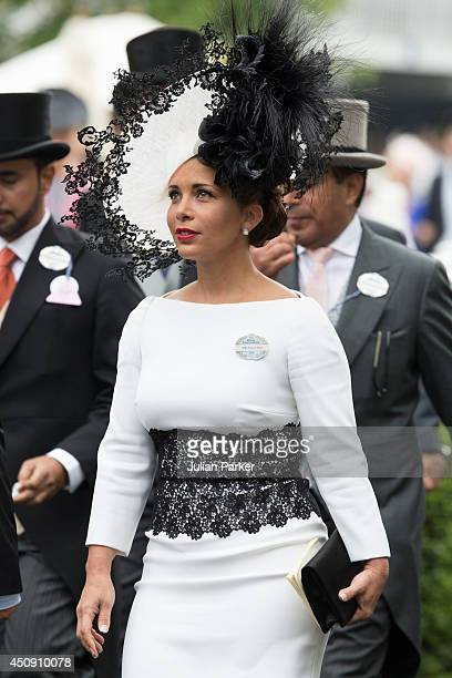 Princess Haya Bint Al Hussein attends Day 3 of Royal Ascot at Ascot Racecourse on June 19 2014 in Ascot England