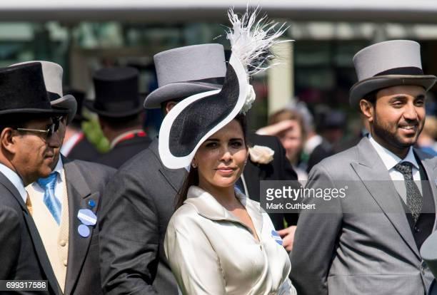 Princess Haya Bint Al Hussein attends Royal Ascot 2017 at Ascot Racecourse on June 21 2017 in Ascot England