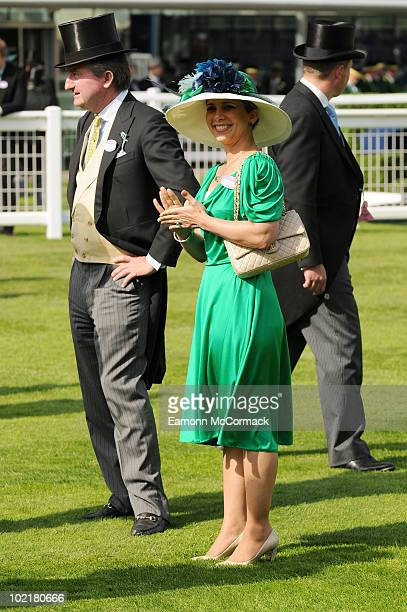 Princess Haya bint Al Hussein attends Royal Ascot at Ascot Racecourse on June 17 2010 in Ascot England