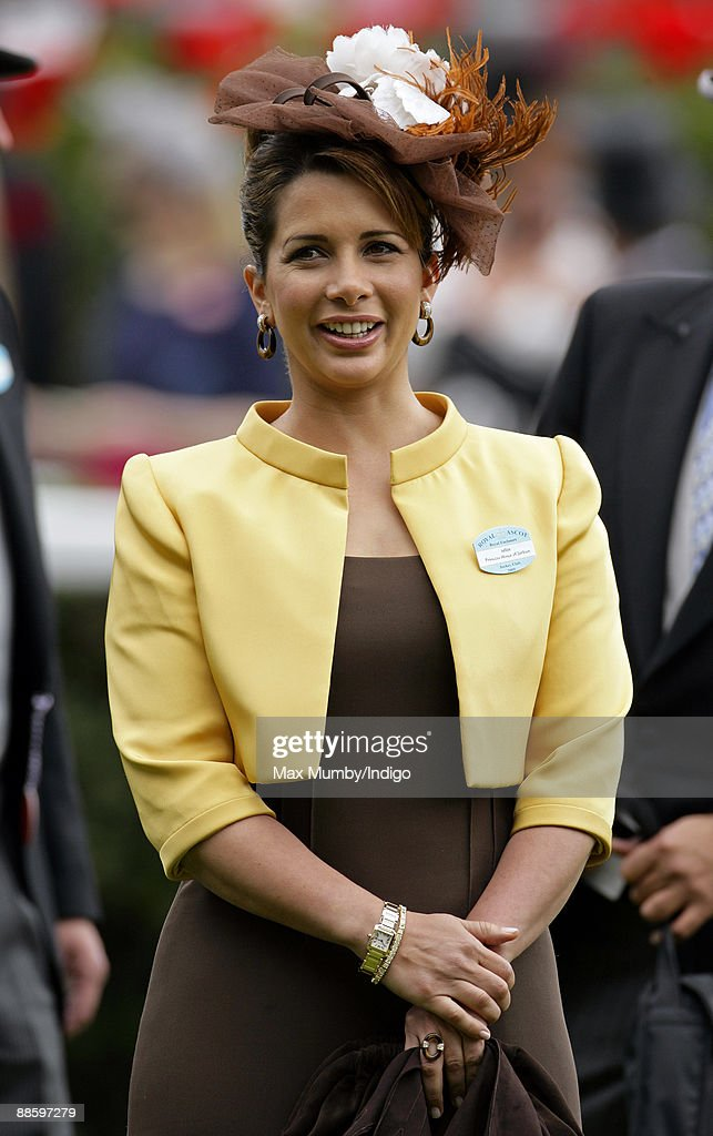 Princess Haya Bint Al Hussein of Jordan attends the fifth and final day of Royal Week at Ascot Racecourse on June 20, 2009 in Ascot, England.