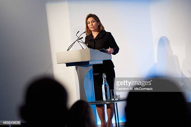 Princess Haya Bint Al Hussein speaks at the Beyond Sport Summit on October 19 2015 in London England