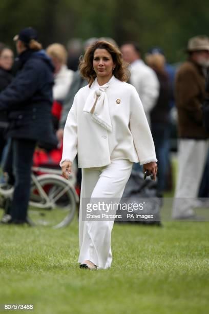 Princess Haya of Jorda during the Royal Windsor Horse show at Windsor Castle
