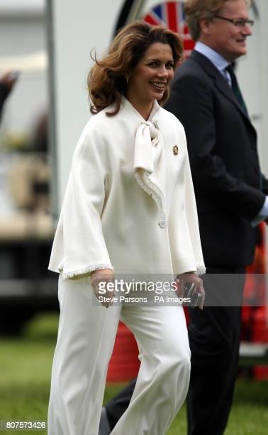 Princess Haya of Jordan during the Royal Windsor Horse show at Windsor Castle