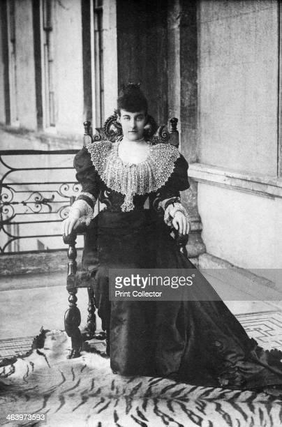 Princess Helene of Orleans late 19thearly 20th century Portrait of Britishborn Helene d'Orleans Duchess of Aosta who married Emanuele Filiberto Duke...