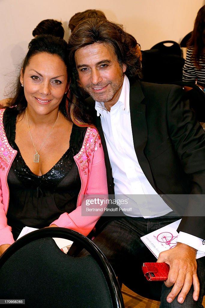 Princess Hermine de Clermont Tonnerre and Alexandre Zouari attend 'Arty Bike' Auction to benefit Association des Tout P'tits at Artcurial on June 20, 2013 in Paris, France.