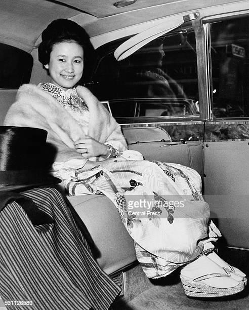 Princess Hitachi the wife of Prince Hitachi 1965