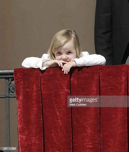 Princess Ingrid Alexandra Attends The Norway National Day Celebrations On The Balcony Of The Royal Palace In Oslo