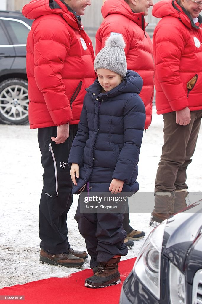 Princess Ingrid Alexandra of Norway attends FIS World Cup Nordic Holmenkollen 2013 on March 17, 2013 in Oslo, Norway.
