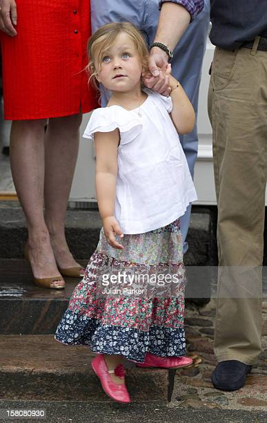 Princess Isabella Of Denmark As The Danish Royal Family Attend A Photocall At Grasten Castle In Southern Denmark