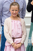 Princess Isabella of Denmark attends the annual summer photo call for The Danish Royal Family at Grasten Castle on July 15 2016 in Grasten Denmark