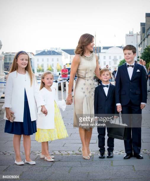 Princess Isabella of Denmark Princess Josephine of Denmark Crown princess Mary of Denmark Prince Vincent of Denmark and Prince Christian of Denmark...