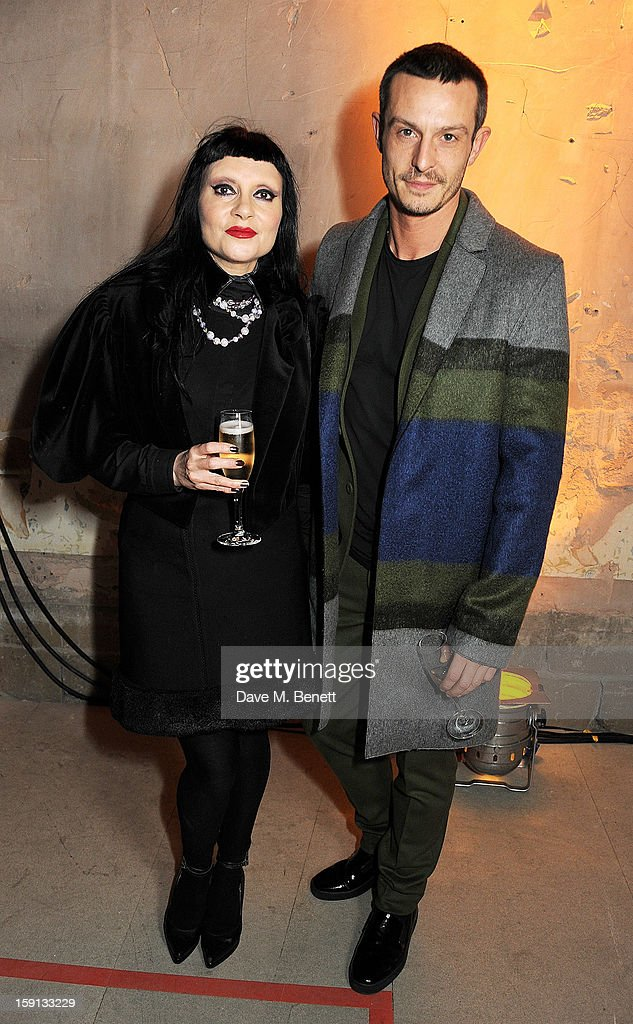 Princess Julia (L) and Jonathan Saunders attend the Jonathan Saunders, Fantastic Man and Selfridges London Collections: MEN AW13 dinner at The Old Selfridges Hotel on January 8, 2013 in London, England.