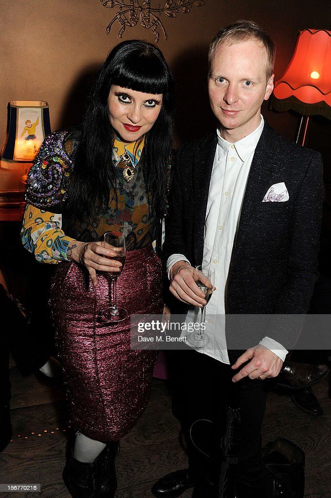 Princess Julia (L) attends the launch of House of Voltaire, the new pop-up shop from acclaimed London art space Studio Voltaire, at Sketch on November 20, 2012 in London, England.