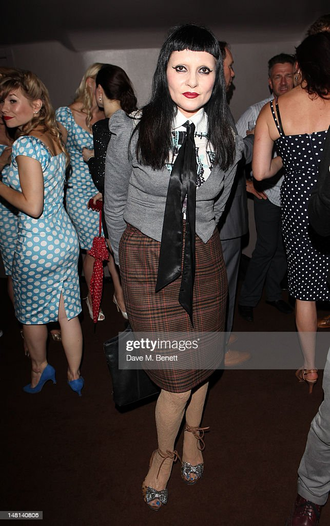 DJ Princess Julia attends the 'The Hurly Burly Show' press night on July 10, 2012 on London, England.