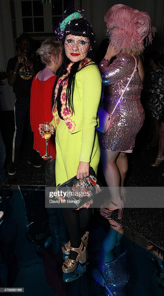 Princess Julia is seen at Warner Belvedere Post BRIT Awards party at The Savoy Hotel on February 19 2014 in London England