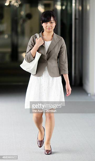 Princess Kako of Akishino is seen on departure at Narita International Airport on August 3 2013 in Narita Chiba Japan The princess will make a month...