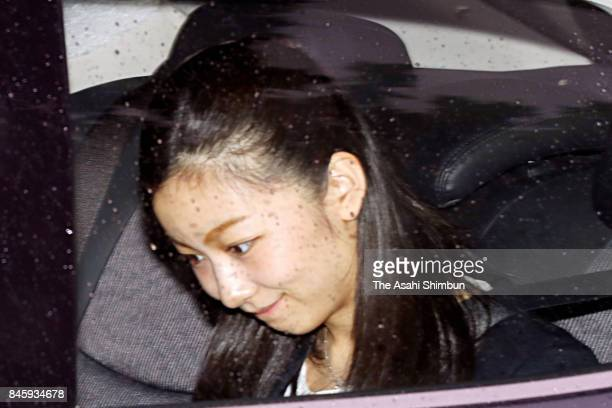 Princess Kako of Akishino is seen on departure for Haneda International Airport on September 12 2017 in Tokyo Japan Kako will study history theory...